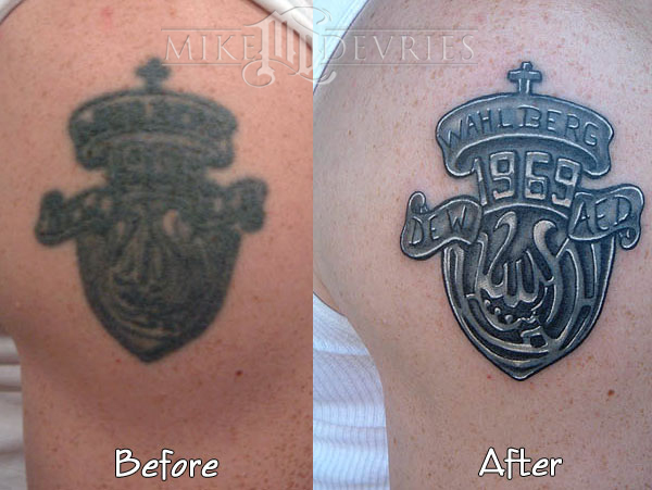 Mike DeVries - Fix-up Tattoo